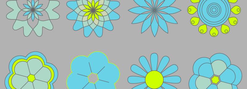vector flower
